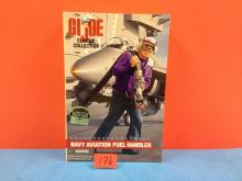1997 GI Joe Navy Aviation Fuel Handler - NIP