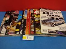 (11) Various Car Magazines - All For One Money