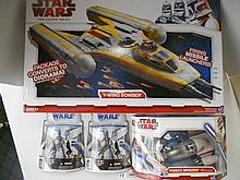Star Wars (Clone Wars) Vehicles and Figures