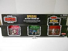 Star Wars (Empire Strikes Back) Special Action Figures set N.I.B.