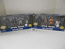 (2) Star Wars Battle over Endor sets (sets 1&2 complete)N.I.B. for one money
