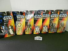 (7) Star wars figures (Foreign) 1995 N.I.B. for one money