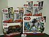 (6) Star Wars(Clone Wars) Vehicles and Figures N.I.B. for one money