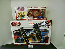 (2) Star Wars Legacy Collection Tie Fighter and Evolutions Rebel Pilot Legacy set N.I.B. for one money