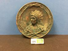 Ceramic Decorative Plate with Chief