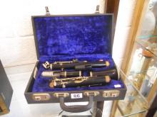 Cased clarinet