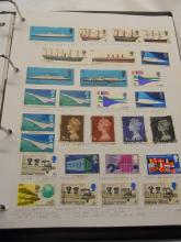 Stamp album - GB Victoria and on