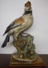Resin figure of bird - Jay