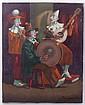 Sandor Basilides (Hungarian, 1901 - 1980) Oil on Canvas
