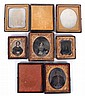 Estate Lot: Six Early Photographs Including Daguerreotypes