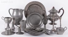 Estate Lot: A Group of 19th and 20th Century Pewter