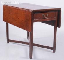 An American Chippendale Mahogany Pembroke Table