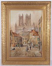 Henry (Hy) Carlton (British, 19th/20th Century) Watercolor