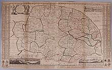 An 18th Century Map of Norfolk, England
