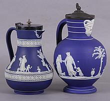 Two Pieces of 19th Century Wedgwood Jasperware