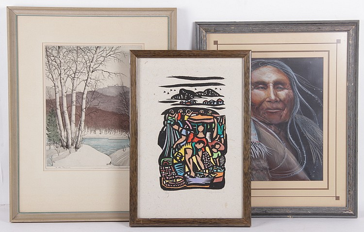 Estate Lot: Art Including Manuel Baldemor