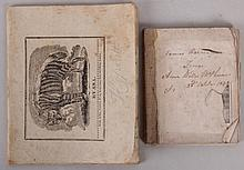 Estate Lot: Children's Book and School Notebook, First Half of the 19th Century