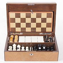 A Vintage Cased Game Set