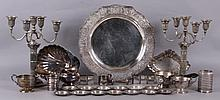 Estate Lot: Sterling Silver and Silverplate Items