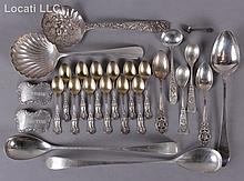 Estate Lot: Sterling Silver Flatware Including Kirk and Son and Cork County Irish