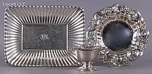 Three Sterling American Pieces of Hollowware