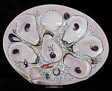 A Union Porcelain Works Oyster Plate