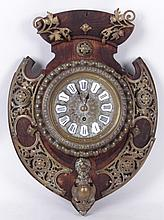 A 19th Century Wall Clock with Lenzkirch Movement