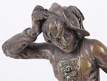 Alfred Barye (French, 1839-1882) Bronze Figure