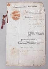 A Document Bearing the Signature of Elbridge Gerry, Vice President and Signer of the Declaration of Independence