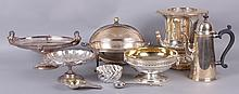 Estate Lot, A Group of Good Silver Plated Items