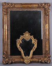 Two Gilt Wood and Gesso Italian Mirrors