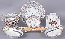 Estate Lot of Porcelain: Dresden, Herend, Vienna, Etc...
