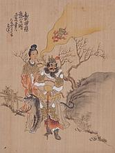 Chinese School, Early 20th Century Gouache on Silk