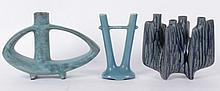 Three Art Pottery Vases, 20th Century