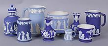 Estate Lot, A Group of Wedgwood Jasperware