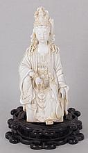 A Good Qing Dynasty Blanc de Chine Figure