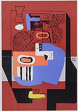 Le Corbusier (French/Swiss, 1887-1965) Lithograph