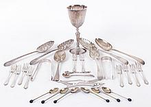 A Group of English Sterling Silver Items