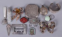 A Group of Silver Estate Items, Jewelry, Etc...