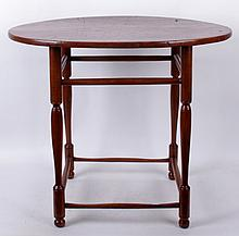 A New England Windsor Tavern Table, 18th Century