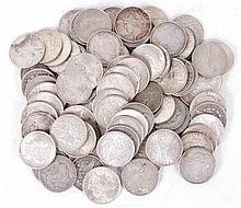 A Group of U.S. Silver Dollars