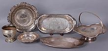 Estate Lot: Group of Sterling Silver Hollowware, Bowls, Etc...