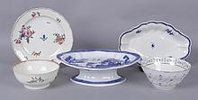 Estate Lot: English Porcelain, 18th and Early 19th Centuries