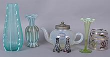 Estate Lot: A Group of Art Glass