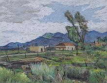 American School, 20th Century, Pastel on Paper