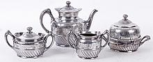 Silver Plate Reed and Barton Tea Set