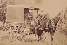 A Group of Early American Photographs, Horse Subjects