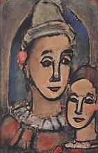 Georges Rouault (French, 1871-1958) Color Etching