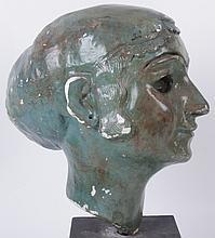 Margaret Wasserman-Levy (American, 1899-1998), Plaster Head