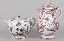 Two Pieces of Vienna Porcelain, 18th Century